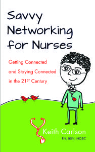 Savvy Networking For Nurses book cover
