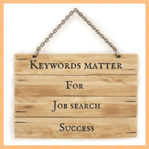 Keywords matter for job search success