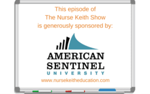 NurseKeith and American Sentinel University
