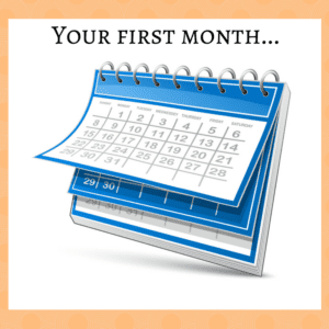your-first-month