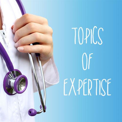 Topics of Expertise