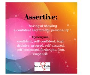 Assertive definition