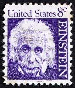 Postage stamp USA 1965 Albert Einstein