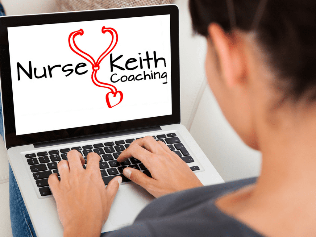 Nurse Keith Coaching laptop