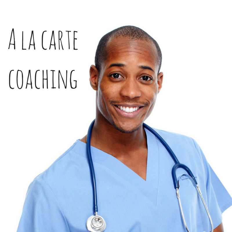 A la carte coaching