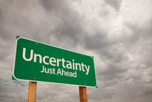 Uncertainty Just Ahead