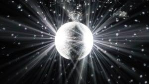 Bright shiny object